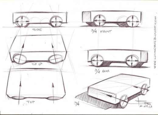two point perspective car Learn how to draw cars like  you've got to be able to nail each one if you want your car to look right something else to point  drawing cars in perspective.