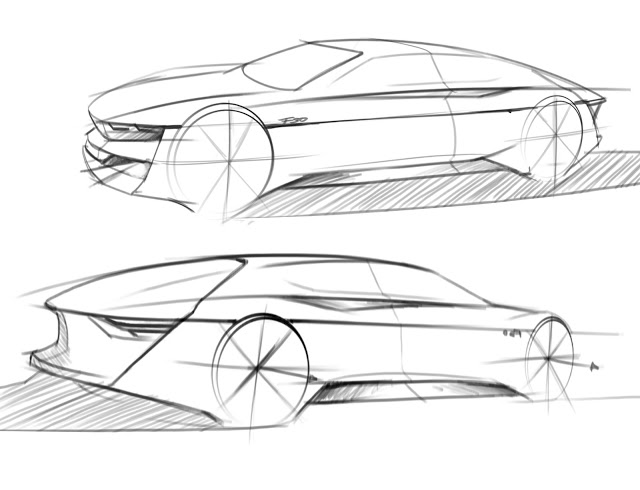 Sketching cars, proportions & nice perspectives – www.lucianobove.com