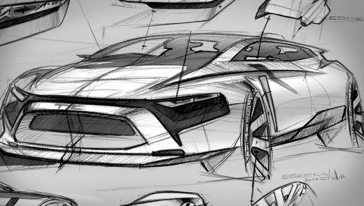 How to draw a car sketch in side view – www.lucianobove.com