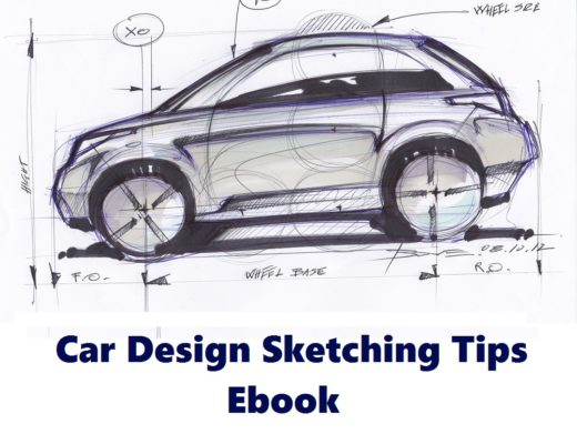 Car Design Sketching Tips