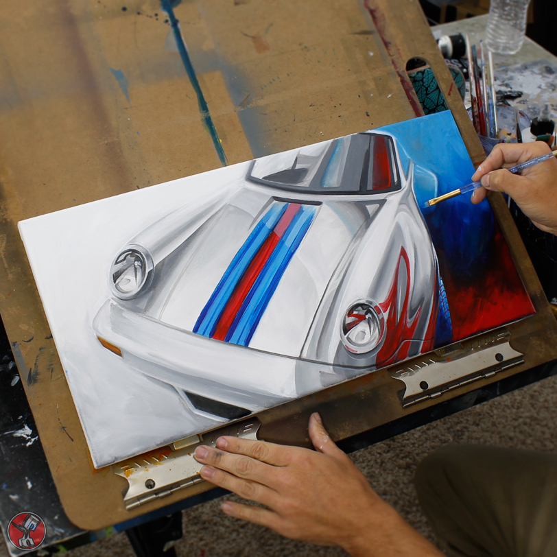 Porsche Rendering by Pinstripe Chris